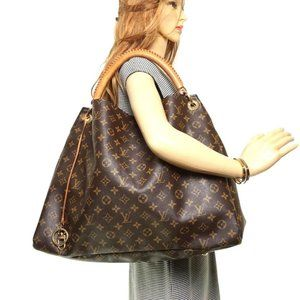 Auth Louis Vuitton Artsy Gm Tote Bag #13260L10